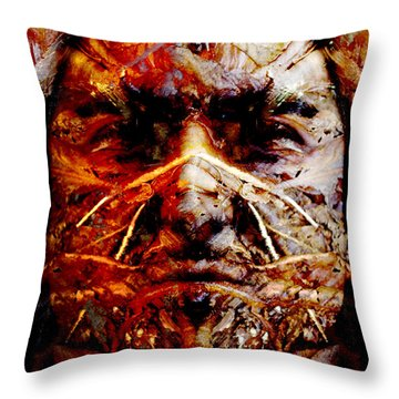 Native Spirit Throw Pillow by Christoher Gaston