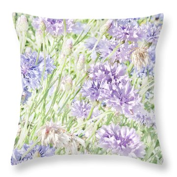 Natural Beauty Throw Pillow by Bonnie Bruno