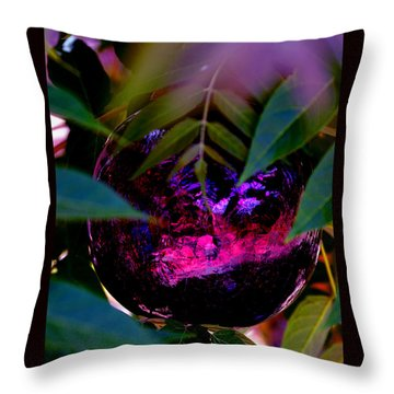 Throw Pillow featuring the photograph Natural Transcendence by Susanne Still