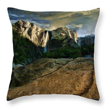 Nature Glory Throw Pillow by Blake Richards