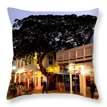 Nature Within The City Throw Pillow by Karen Wiles