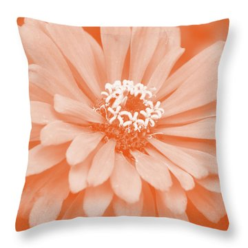 Nature's Comfort Throw Pillow by Joanne Brown
