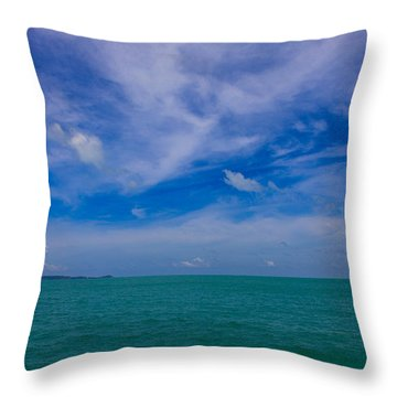 Natures Gems Throw Pillow