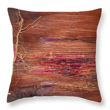 Nature's Glory  Throw Pillow by Basant Soni