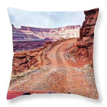 Nature's Handiwork Throw Pillow by Bob and Nancy Kendrick