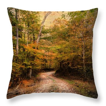 Nature's Harmony Throw Pillow by Jai Johnson