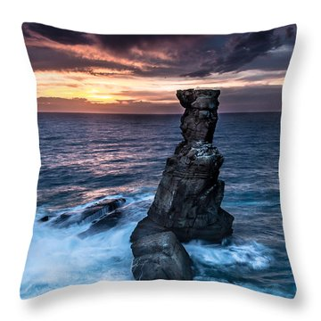 Nau Dos Corvos Throw Pillow by Edgar Laureano