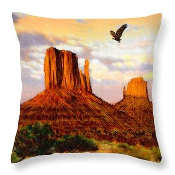 Navajo Spirit Throw Pillow