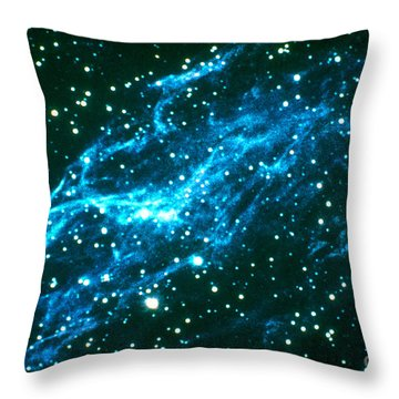 Nebulae In Cygnus Throw Pillow by Science Source