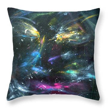 Nebula's Face Throw Pillow