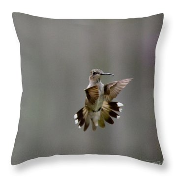 Nectar Defense Throw Pillow by Cris Hayes