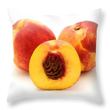 Nectarine Throw Pillow by Fabrizio Troiani