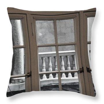 Neighbors Baluster Throw Pillow by Anna Villarreal Garbis