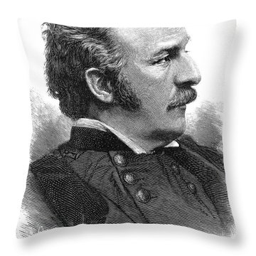 Nelson Appleton Miles Throw Pillow by Granger