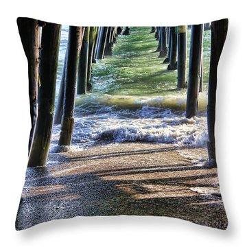 Neptune's Stairway Throw Pillow