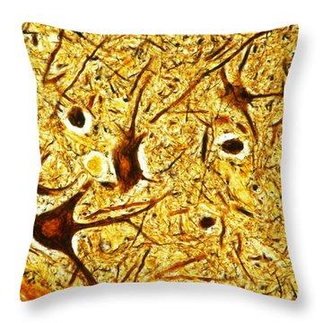 Nerve Tissue Throw Pillow