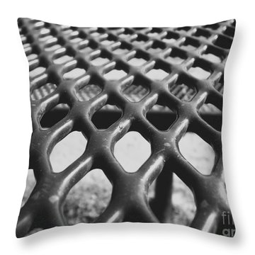 Net Throw Pillow by Andrea Anderegg
