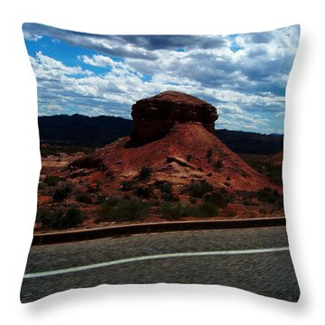 Nevada Usa Throw Pillow