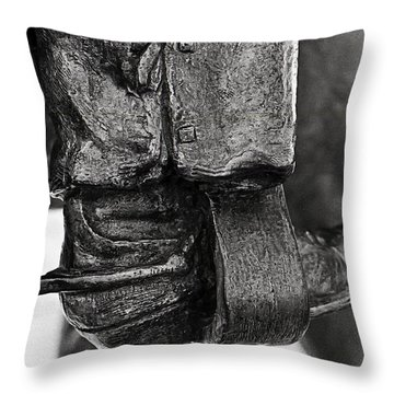 Never Met A Man He Didn't Like Throw Pillow