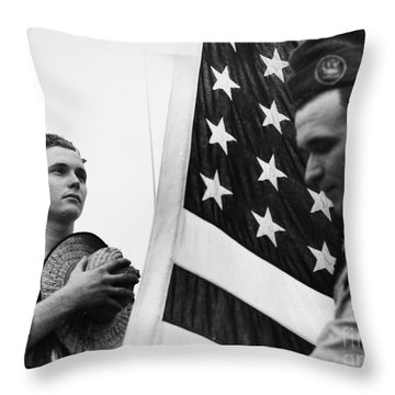 New Deal: C.c.c., C1940 Throw Pillow by Granger