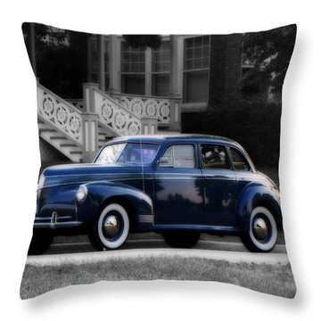 New Paint Throw Pillow by Ms Judi