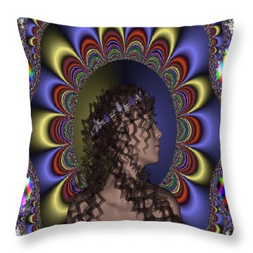 New Romantic Throw Pillow by Matthew Lacey