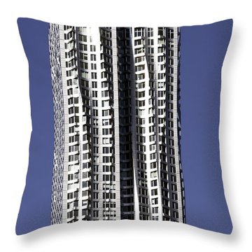 New York By Gerhy Throw Pillow