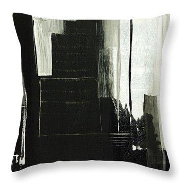New York City Reflection Throw Pillow