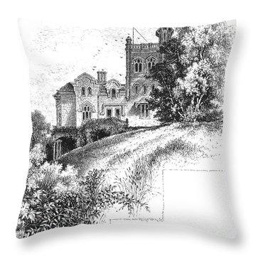 New York State: Villa Throw Pillow by Granger