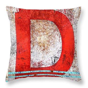 Newport D Throw Pillow
