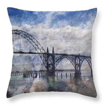 Newport Fantasy Throw Pillow