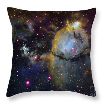 Ngc 896 Part Of The Heart Nebula Throw Pillow