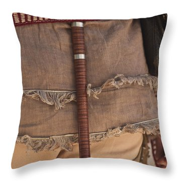 Nice Ax Throw Pillow