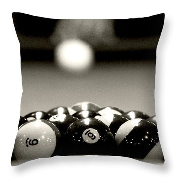Nice Rack Throw Pillow