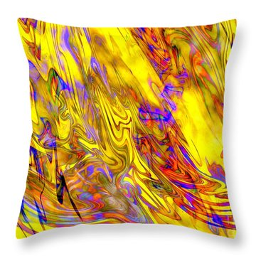 Night At The Opera Throw Pillow by Carol Groenen