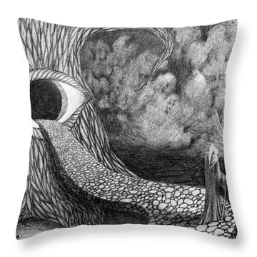 Night Guard Throw Pillow