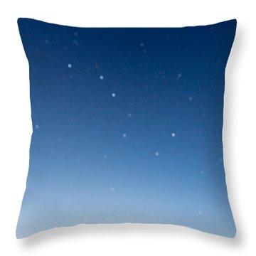 Night Sky Throw Pillow by Heidi Smith