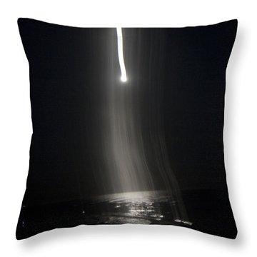 Night The Moon Fell Iv Throw Pillow by Betsy Knapp