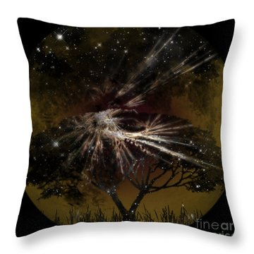 Nightscape Throw Pillow by Thomas OGrady