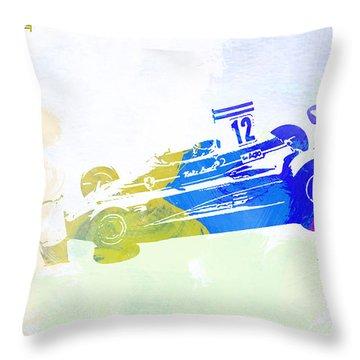 Niki Lauda Throw Pillow