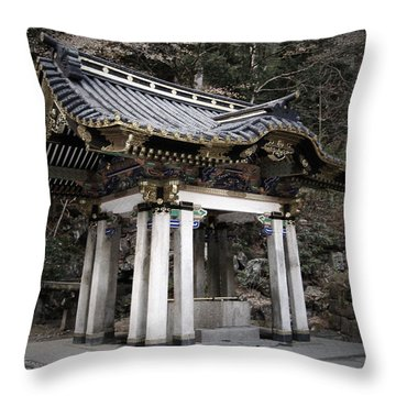 Pagoda Throw Pillows