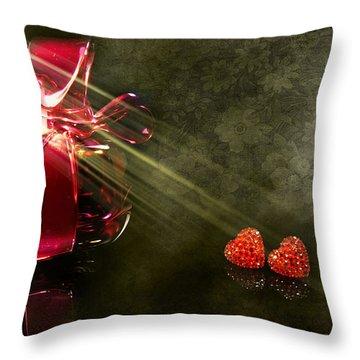 Nina Throw Pillow by Svetlana Sewell