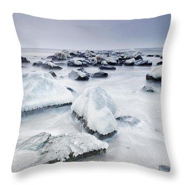 Nirvana Throw Pillow by Evgeni Dinev