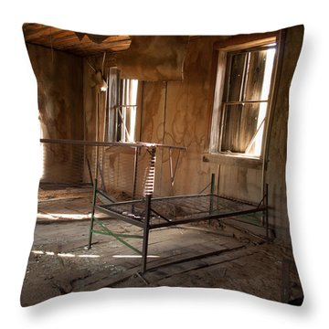 Throw Pillow featuring the photograph No More Time To Sleep by Fran Riley