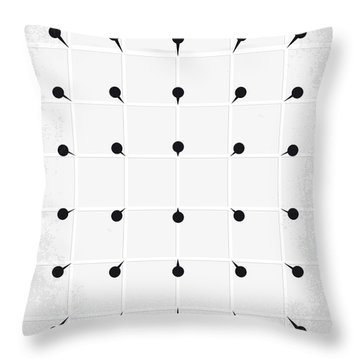 No033 My Hellraiser Minimal Movie Poster.jpg Throw Pillow