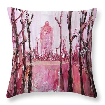 None Can Reach Heaven Who Has Not Passed Through Hell Throw Pillow by Fabrizio Cassetta