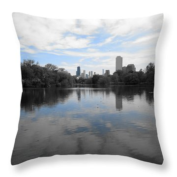 North Pond Throw Pillow