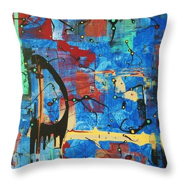 Norval Morrisseau On My Mind Throw Pillow