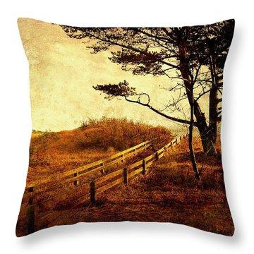 Norwegian Pine Throw Pillow