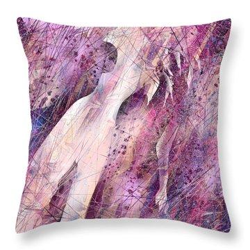 Not Forgotten Throw Pillow by Rachel Christine Nowicki